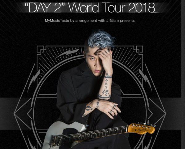 "MIYAVI – ""DAY 2"" WORLD TOUR 2018"