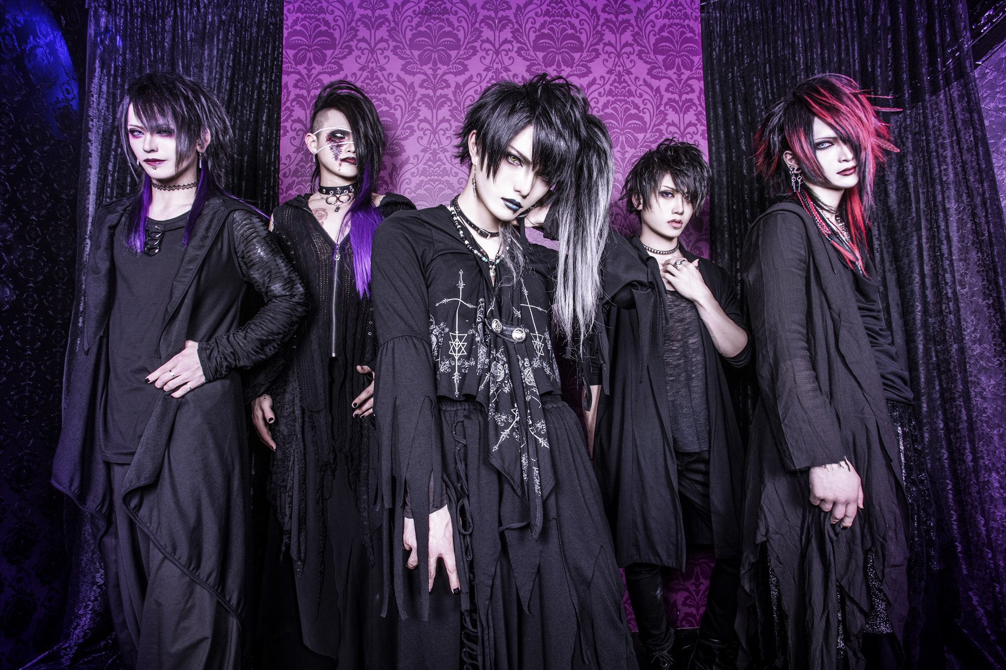 haku~shikkoku no toki~ – New members, new songs and new look